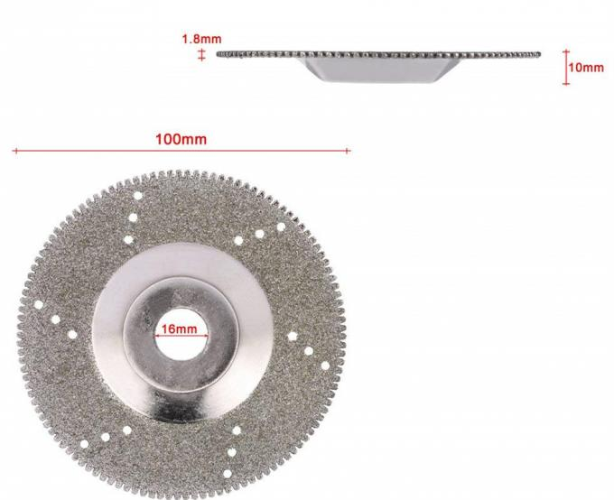 Polishing Diamond Grinding Cup Disc Saw Blade 16mm Inner Diameter Rotary Wheel