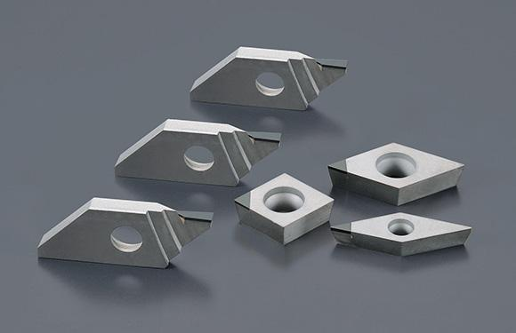 TNMM CNC Lathe Tool Inserts Diamond PCD Inserts With Super Hard Hardness