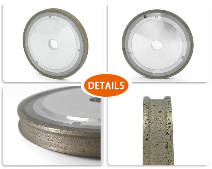 Sintered Technique Metal Grinding Wheel For Grinding Glass / CNC Machine