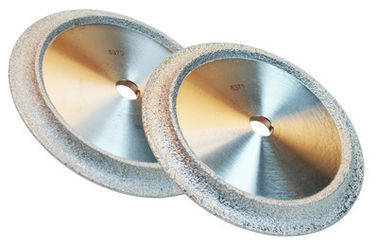 China Vacuum Brazed Industrial Diamond Grinding Wheels Optional Size For Jewelry / Gemstone supplier