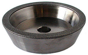 China Nickle Bond Industrial Mini Diamond Grinding Wheel 120 / 140 Grit Long Service Life supplier