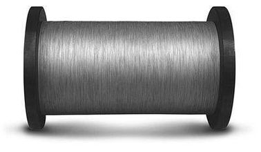 China 0.065 - 0.1mm Diamond Cutting Wire High Carbon Steel Core For Crystal Silicon Slice supplier