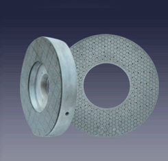 China Easy Grinding Action Ceramic Bond Grinding Wheel , Flat Grinding Wheel Longer Tool Life supplier