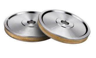 China A Line Edge Wet Diamond Grinding Wheel Long Service Life Excellent Shape Preservation for glass supplier