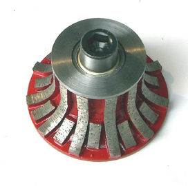 China Segmented Portable Carving Diamond Profile Wheel For Stone Slab Edge Profiling supplier