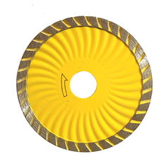 China Turbo Wave Diamond Saw Blade for Granite and Concrete cutting supplier