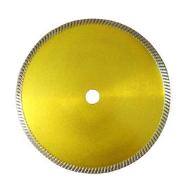 China Continuous Rim Narrow Turbo Teeth Diamond Blade for Granite cutting supplier