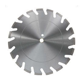 China Wide U Slot Diamond Cutting Blade , Metal Bond Diamond Concrete Cutting Blades supplier