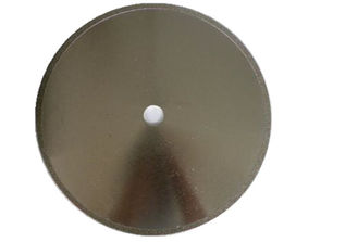 China Continuous Rim Diamond Cutting Blade , Light Easy Carried Diamond Stone Cutting Blades supplier