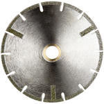 China U - Slot Electroplated Diamond Cutting Blade Straight Protection Low Noise Performance supplier