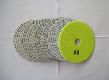 China 3mm Thickness Diamond Flexible Polishing Pad Wear Resistance Environmental Protection supplier
