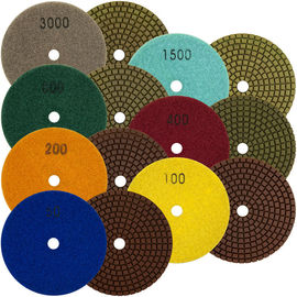 China Durable Diamond Polishing Pads , High Efficiency Diamond Terrazzo Polishing Pads supplier