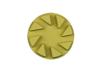 China Durable Wet Dry Diamond Floor Pads , Flexible Diamond Polishing Pads For Granite supplier