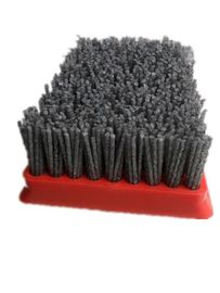 China 2000 - 40000 RPM Abrasive Nylon Brush Soft Stone Processing With Archaistic Effect supplier