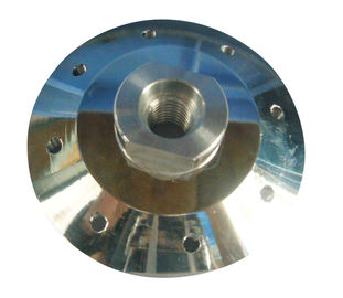 China Silver Color Aluminium Flange Adaptor For Flush Cutting Diamond Saw Blade supplier