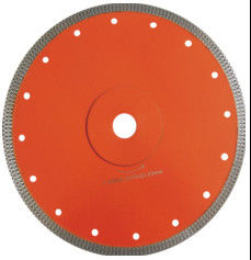 "China 5"" Super Thin Diamond Cutting Blade Ceramic Saw Blade For Porcelain In Red Color supplier"