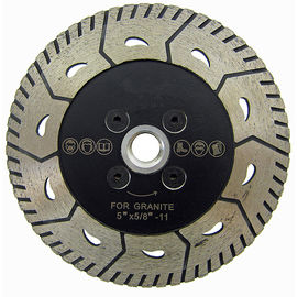 China 5 Inch 2 In 1 Turbo Diamond Blade Granite Cutting Tools For Both Cutting And Grinding supplier