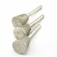 China 25mm Inverted Cone Diamond Burr Bits Masonry Carving Tools For Gem Stone supplier