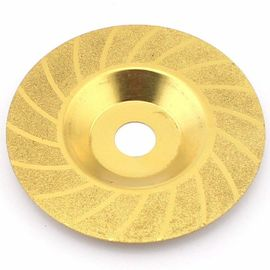 China Titanium 4 Grinding Discs Diamond Cup Wheel Convex Threading Angle Grinder supplier