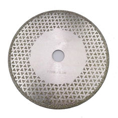 China 7 Inch Electroplated Diamond Cutting & Grinding Blade Both Side Coated For Granite Marble supplier