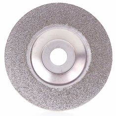 China Diamond Coated 4 Inch Grinding Disc Wheel For Angle Grinder Grit 60 Coarse Arbor Hole 16 Mm supplier