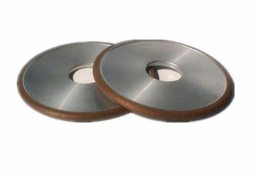 China Silver Gray Super Hard Resin Bond Diamond Grinding Wheel For Sharpening Carbide Tools supplier
