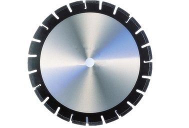 China Laser Welded Synthetic Diamond Asphalt Cutting Blade With Undercutting Protections supplier