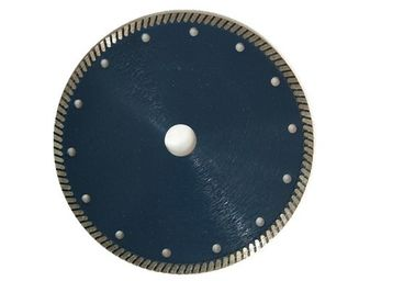 China Sintered Blue Color Diamond Saw Blades Dry Cutting For Sand Stone , Wood Stone supplier