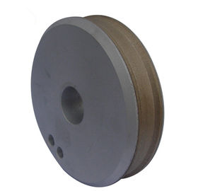 China Customized Metal Bonded Diamond Grinding Wheels , Groove Flat Grinding Wheel Medium Hardness supplier