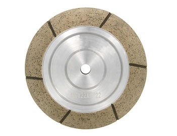 China 45 Degree Segmented Glass Metal Bonded Diamond Grinding Wheels For CNC Machine supplier