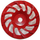 China Sintered Bond Angle Grinder Cup Wheel Smooth Grinding For Concrete / Stone Dry Polishing factory