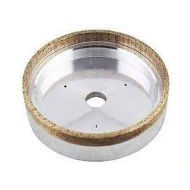 Heat Resistance Metal Bonded Diamond Grinding Wheels For Straight Edge Machine