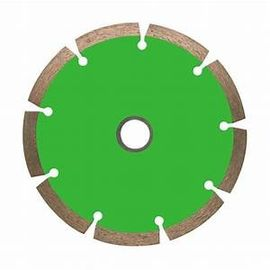 China Granite Sintered Blue Color Diamond Saw Blades Dry Cutting  For Hard Materials factory