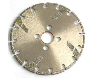 China High Sharpness Diamond Cutting Blade , Concrete Cutting Blades For Angle Grinder factory