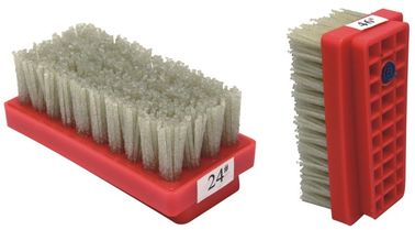Plastic Core Diamond Abrasive Brush , Flexible Nylon Abrasive Filament Brushes