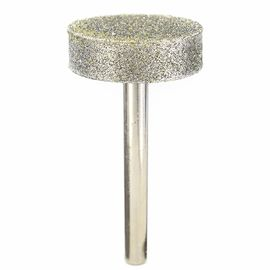 80 Grit 30 Mm Cylindrical Diamond Mounted Points Grinding Wheel For Stone Carving
