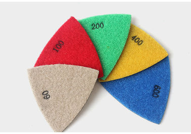 3 Inch Triangular Diamond Polishing Pads Electroplated Sanding Pad For Multi Tool
