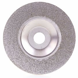 Diamond Coated 4 Inch Grinding Disc Wheel For Angle Grinder Grit 60 Coarse Arbor Hole 16 Mm