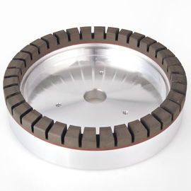 Long Life Time Resin Bond Diamond Grinding Wheel With Full - Segmented